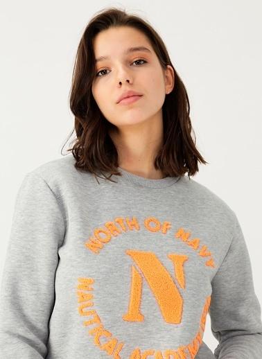 North Of Navy Sweatshirt Gri